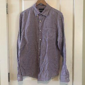 BANANA REPUBLIC Camden Linen Button Down Shirt